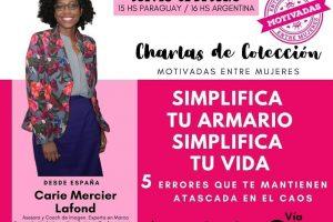 Motivadas entre mujeres presenta una capacitación con Carie Mercier Lanfond