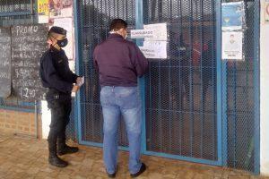 Se clausuraron tres locales por no cumplir con los protocolos de seguridad e higiene