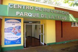 Parque de la Salud: se sumó el servicio de médico auditor, en la Delegación del IPS