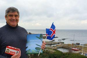 El principal candidato a la presidencia de Islandia se sumó a la lista de amigos de la yerba mate