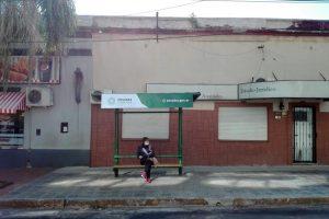 Avanzan en la recuperación de refugios del transporte público