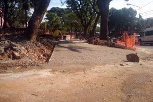 Continúan las obras de senderos para caminatas y bicicletas