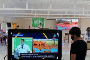 Más de 20 millones de pesos movió el remate virtual ganadero con un récord de 169 pesos por kilo para un lote de Montecarlo