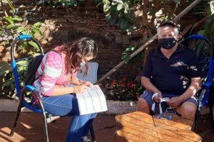 Vacunación antigripal: se relevaron más de un centenar de mayores de 60 años en el barrio San Gerardo