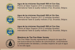 El notable logro de Aguas Misioneras: volvió a colocar su producto entre los mejores del mundo