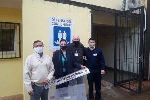 Reforzaron la seguridad sanitaria en las delegaciones de Defensa del Consumidor de Misiones
