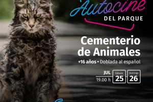 """Con """"Cementerio de animales"""", el terror llega al Autocine del Parque"""