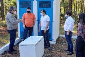 Avanzan las obras que llevarán agua potable a más habitantes de 9 de Julio