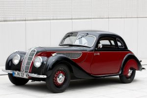 The BMW 327/28 Coupe, year of manufacture 1939, Exterior (07/2011).