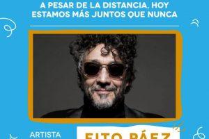 Fito Páez participará de un show solidario junto a TECHO