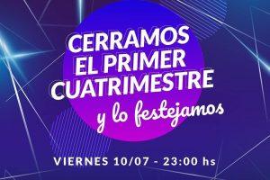 La Universidad de la Cuenca del Plata organiza una fiesta virtual por cierre del cuatrimestre