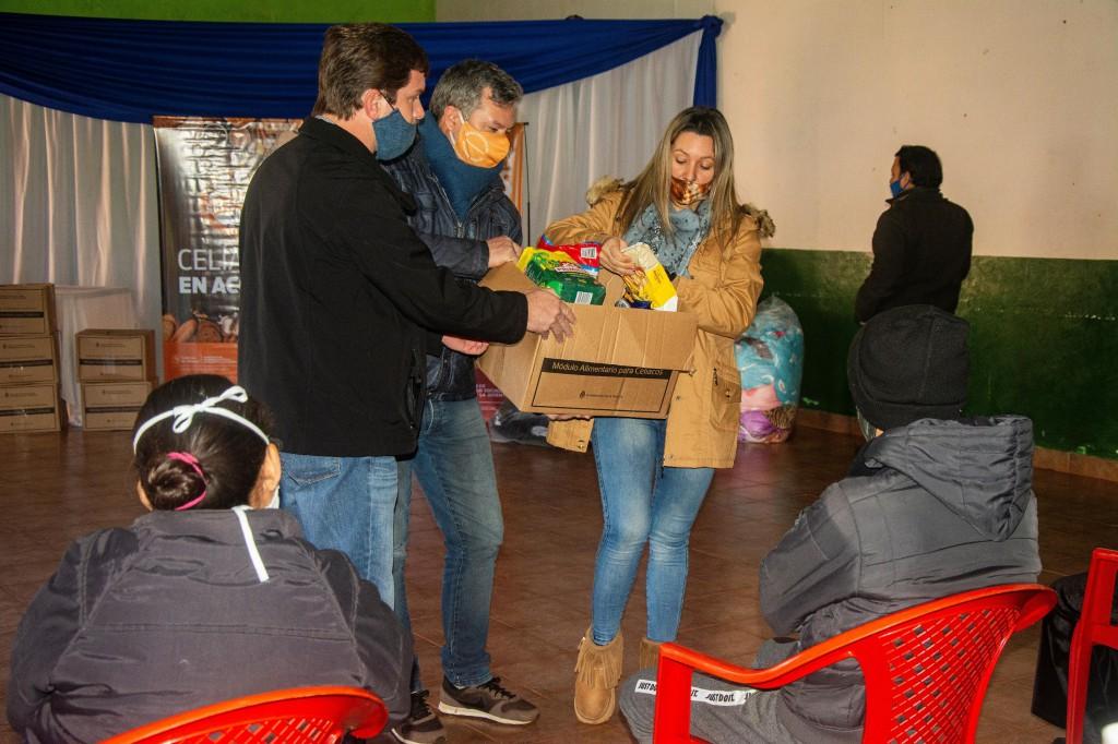 Se entregaron módulos alimentarios destinados a personas con celiaquía