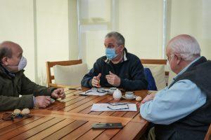 Passalacqua se reunió con referentes de la Cámara Argentina de la Construcción para analizar formas de cooperación en tiempos de pandemia