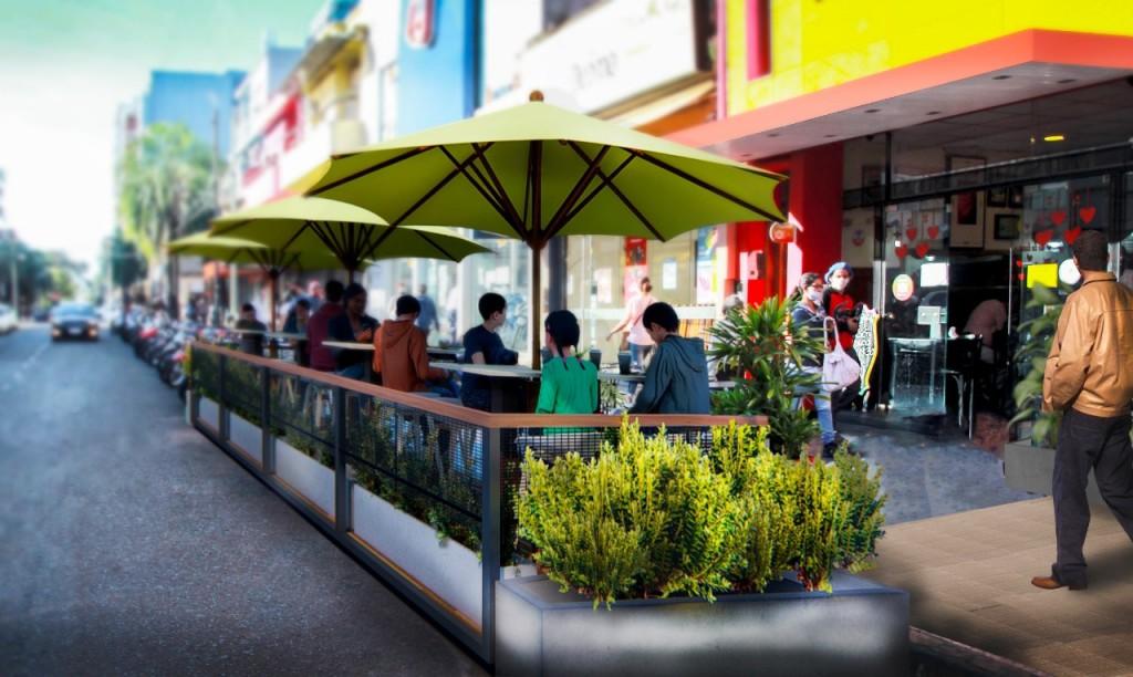 Proponen instalar balcones gastronómicos en Posadas