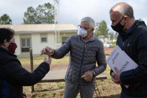 56 familias estrenan casa propia en Itaembé Guazú