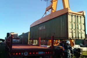 Logística: el tren de cargas se prepara para partir con producción misionera