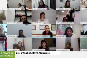 Mercedes D'Alessandro expuso en el Parlamento Municipal de la Mujer 2020 de Posadas