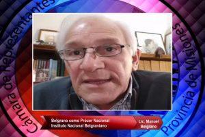 Descendiente de Manuel Belgrano participó del ciclo de videoconferencias organizado por la Legislatura de Misiones