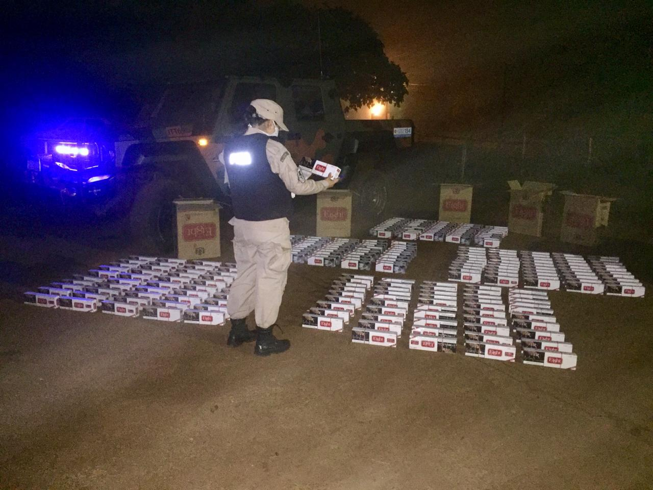 Contrabando en Misiones: Prefectura decomisó 5.500 atados de cigarrillos