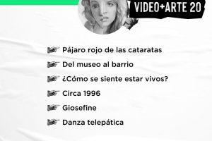 Difundieron los proyectos seleccionados de la convocatoria Video+Arte