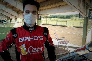 Rudito aceleró en un auto de la Fórmula Renault 2.0