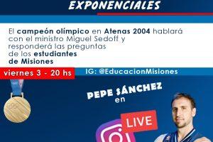 """El medallista olímpico """"Pepe"""" Sánchez charlará con jóvenes misioneros"""