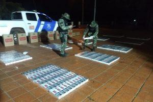 Contrabando en Misiones: Prefectura secuestró un cargamento millonario de cigarrillos ilegales