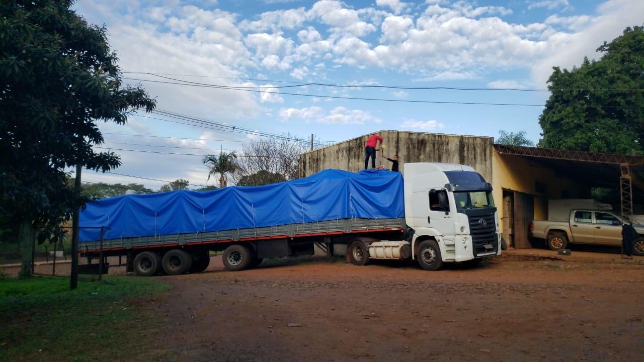 La Zona Centro Uruguay de Salud recibió alcohol que se produce en el Ingenio de San Javier
