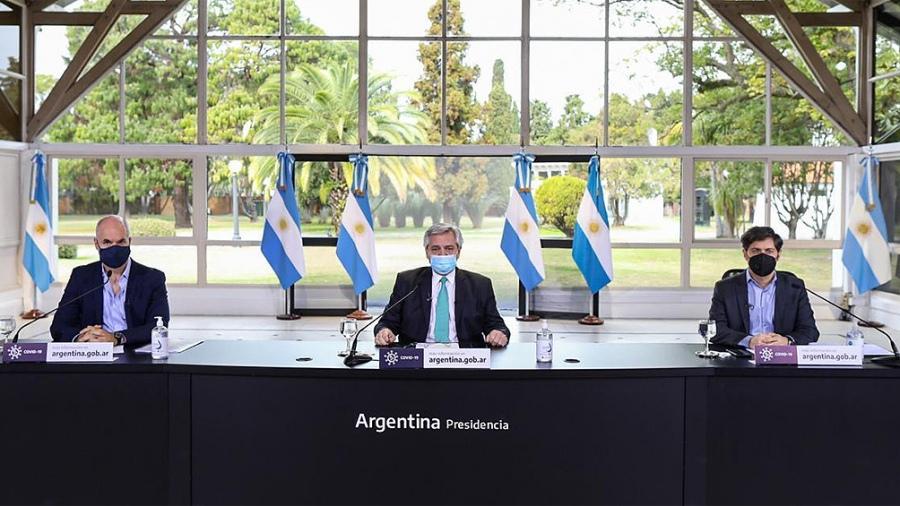 """Alberto Fernández: """"Hasta el 16 de agosto vamos a mantener las cosas como están hoy"""""""
