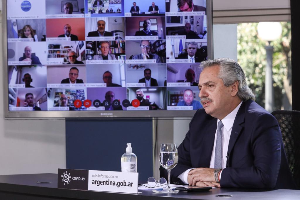 El Presidente anunció un plan de obras en universidades nacionales con una inversión de 9.600 millones de pesos