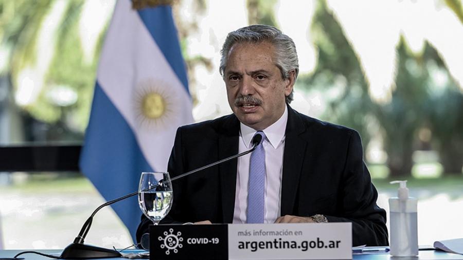 Fernández anunció una nueva prórroga del IFE que abarcará a todo el país