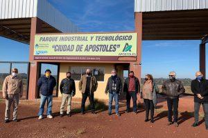 Apóstoles e Industria firmaron acuerdo para mejorar del sector olero