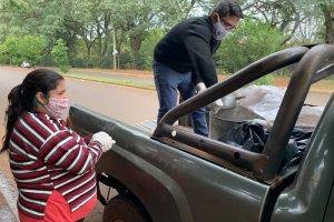 El municipio continúa asistiendo a familias en situación de vulnerabilidad