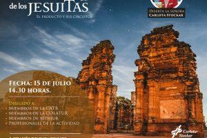 Turismo pospandemia: Carlota Stockar brindará una charla sobre el Camino de los Jesuitas