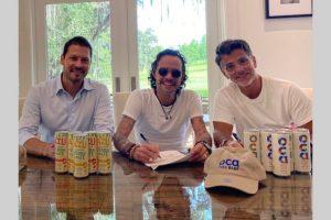 El cantante Marc Anthony vende una bebida a base de yerba mate en sociedad con la fábrica de Citric