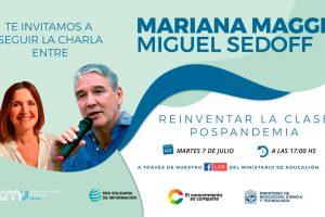 """""""Reinventar la clase pospandemia"""": Mariana Maggio disertará para docentes misioneros"""