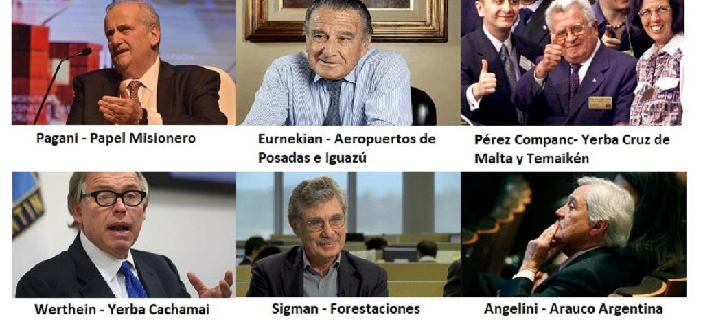 Exclusivo: Los negocios en Misiones de las 10 familias más ricas de la Argentina