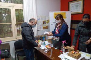 Se entregaron termómetros infrarrojos a Centros de Salud y CIC de la Zona Centro Uruguay