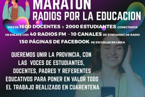 Más de 2 mil estudiantes estarán conectados en una maratón de radio por la educación