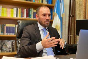 Guzmán dijo que la Argentina solo busca refinanciar deuda con el FMI y no más dinero