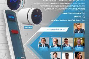 El lunes presentan los Termómetros Infrarrojos Inteligentes IOT fabricados por Misiones