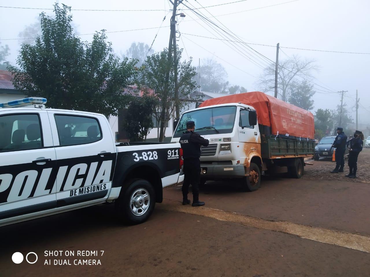 La soja que se evade: interceptaron un camión con 7 toneladas en Alba Posse