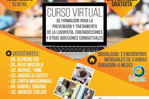 Prevención y tratamiento de la ludopatía: inician curso virtual para profesionales de la salud