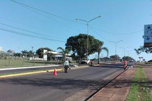 Reordenamiento vial: avanzan los trabajos en el Acceso Oeste de Posadas