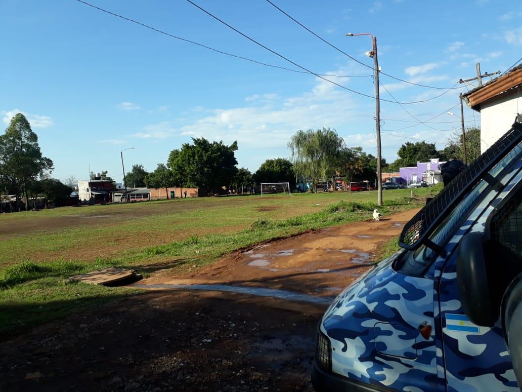 """La policía intervino en diversos casos contra """"futbolistas"""" que rompieron la cuarentena"""