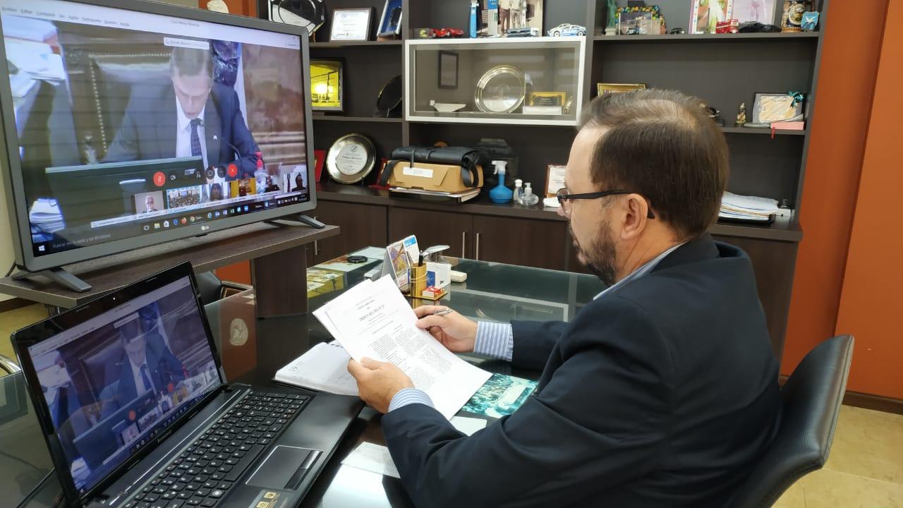 Sartori en la Comisión de Presupuesto y Hacienda llevó los planteos de Misiones