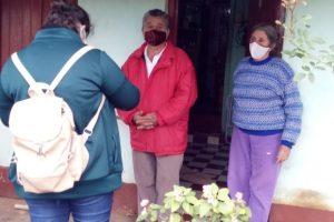 Mayores de 60 años del barrio Miguel Lanús recibieron la vacuna antigripal