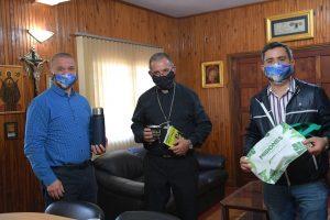 Arce se reunió con Baisi en Iguazú