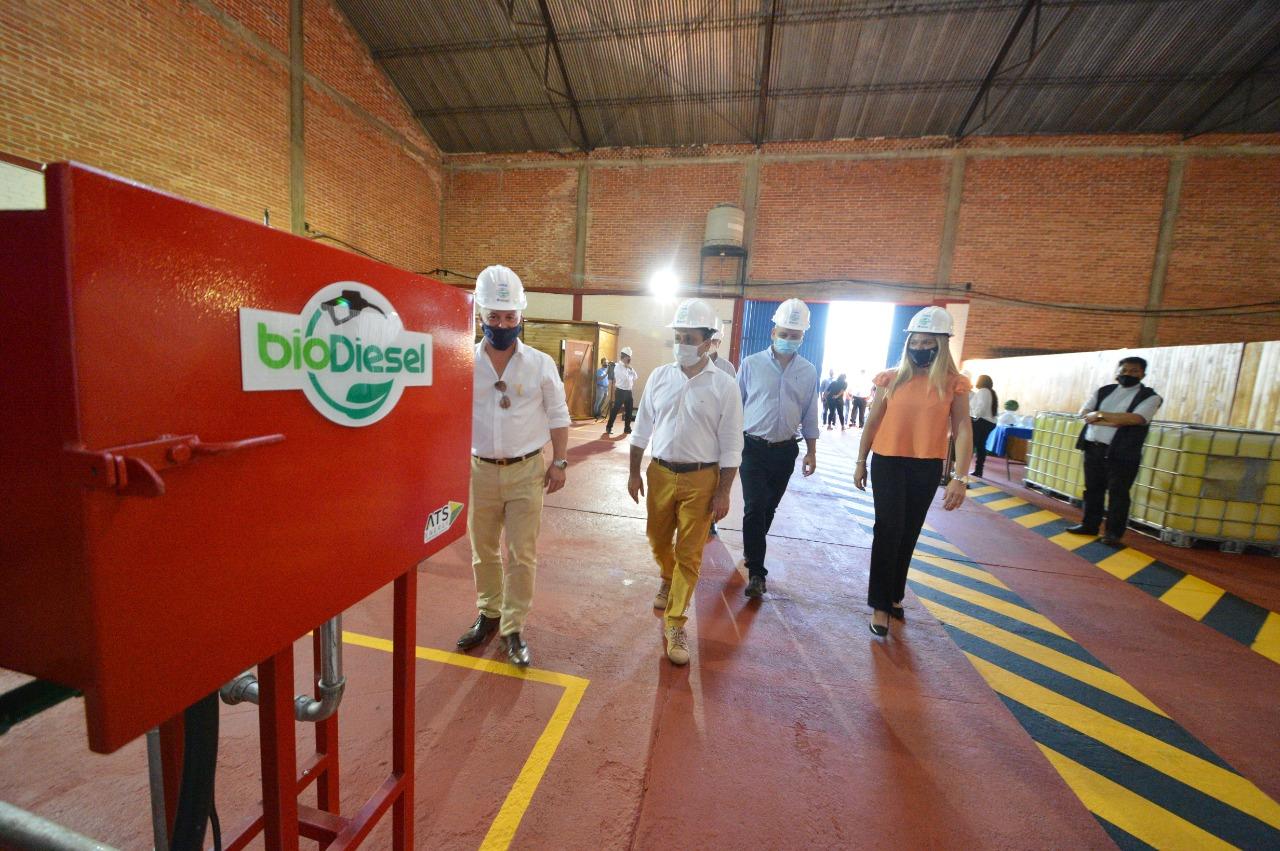 Puerto Rico estrena planta de biodiesel