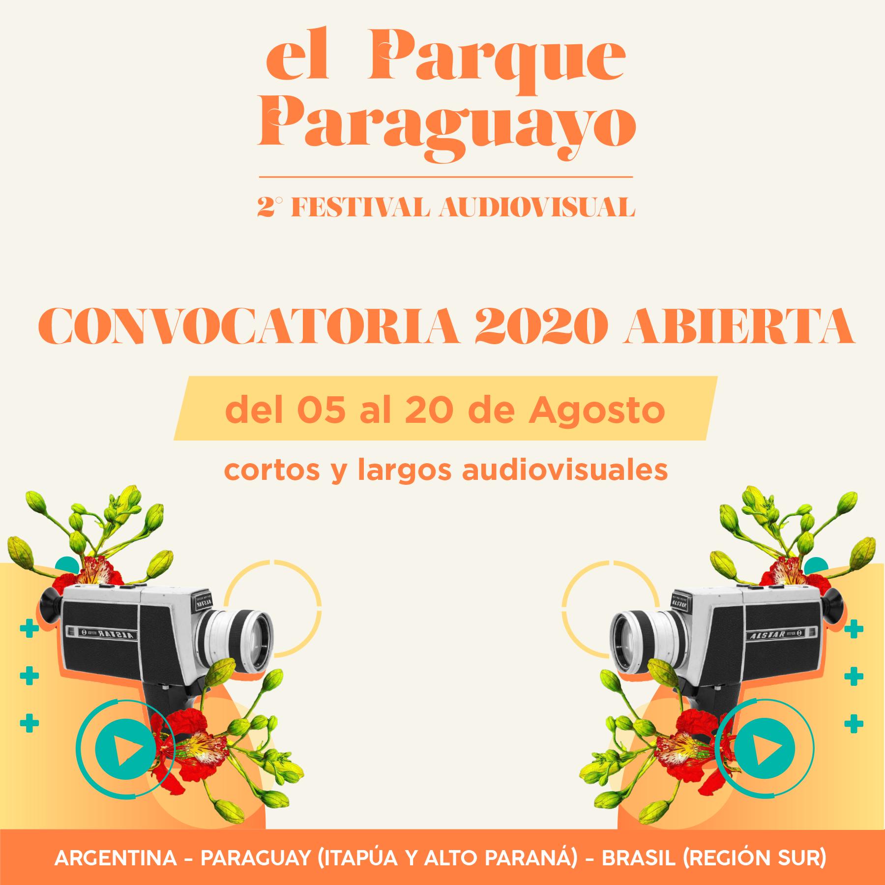 """La segunda edición del Festival Audiovisual """"El Parque Paraguayo"""" abre la convocatoria para integrar la programación"""